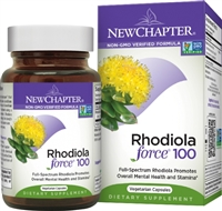 New Chapter Rhodiola Force - 100 mg - 30 Vegetarian Capsules