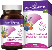 New Chapter Perfect Postnatal Multivitamin - 48 Tablets