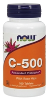 Vitamin C-500 100 Tablets NOW