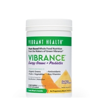 Vibrance Essential Daily Green Food Orange Pineapple - 9.21 oz - Vibrant Health