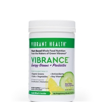 Vibrance Essential Daily Green Food Citrus Cucumber - 9.21 oz - Vibrant Health