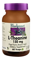 L-Theanine - 150 mg - 60 Vegetable Capsules - Bluebonnet Nutrition