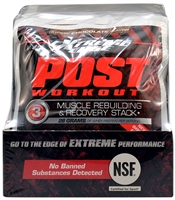 Extreme Edge Post Workout Atomic Chocolate - 7 Packets - Bluebonnet Nutrition