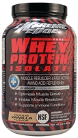 Extreme Edge Whey Protein Isolate Vicious Vanilla - 2.2 lbs - Bluebonnet Nutrition