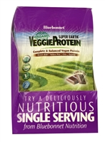 Super Earth VeggieProtein Chocolate - 8 Packets - Bluebonnet Nutrition