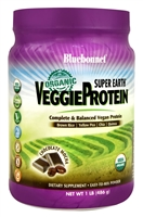 Super Earth VeggieProtein Chocolate Mocha - 1 lb - Bluebonnet Nutrition