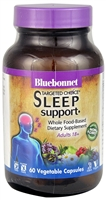 Targeted Choice Sleep Support - 60 Vegetable Capsules - Bluebonnet Nutrition