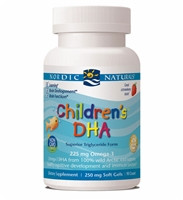Children's DHA Strawberry - 90 Softgels - Nordic Naturals