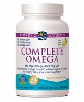 Complete Omega Lemon - 1000 mg - 60 Softgels - Nordic Naturals