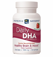 Daily DHA Strawberry - 1000 mg - 30 Softgels - Nordic Naturals