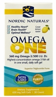 Omega ONE - 650mg - 30 Softgels - Nordic Naturals