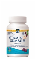 Vitamin D3 Gummies Wild Berry - 1000 IU - 60 Gummies - Nordic Naturals