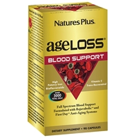 AgeLoss BloodAgeLoss Blood Support Capsules - 90 Count Bottle (30 Servings) - Natures Plus Support Capsules