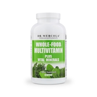Whole-Food Multivitamin PLUS tablets (240 per bottle): 30 Day Supply | Dr Mercola