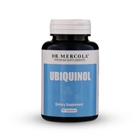 Ubiquinol 100mg (90 per bottle): 90 Day Supply: Dr Mercola