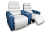 Dallas Cowboys Theater Seating. Show your team spirit with theater seating to match your favorite team's colors!