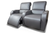 """Legacy"" Custom Home Theater Seating. 100% Leather Theater Seating, Fully Custom Chairs."