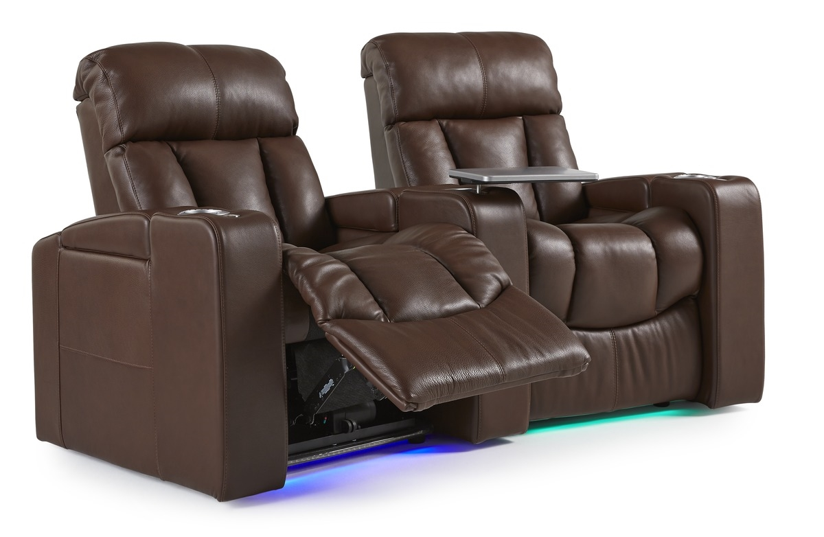 the paragon home theater chair by palliser custom theater seating