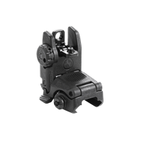 MAGPUL MBUS REAR FLIP SIGHT GEN 2 BACK UP IRON SIGHTS BLACK