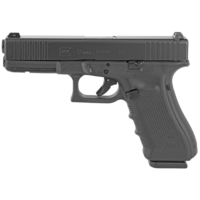 GLOCK 17 GEN 4 9MM - 17 Round Capacity - with 3 Magazines