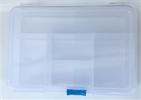5 Compartment Box w/Sliding Lock