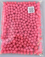 10mm Pink Glow (Luminous) Bead/500 Pack