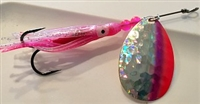Size 5 B-10 Series Spinner/Silver SG w/Pink and Red Edge/Pink Skirt