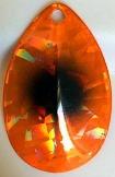 Size 5 B-10 Series Blade/Holographic SG Orange Foil w/Black Dot/Copper Back/2 Pack