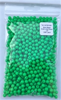 6mm Opaque Lime Green UV Bead/1000 Pack