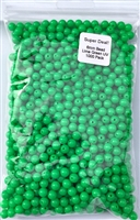 Size 6mm Round Bead/Solid Lime Green UV/1000 Pack