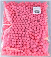 8mm Pink Glow (Luminous) Bead/1000 Pack