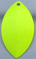 Size 6 FB Series Blade/Fluorescent Chartreuse Both Sides2 Pack