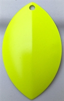Size 7 FB Series Blade/Fluorescent Chartreuse Both Sides/2 Pack