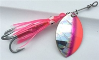 Size 4 FB Series Spinner/Silver SG w/Pink & Red/Pink Skirt