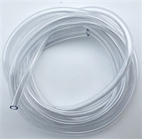 "Hook Tubing/1/8"" I.D/Crystal Clear"
