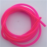 "Hook Tubing/1/8"" I.D/Hot Pink UV/3 Feet"