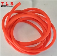 "Hook Tubing/1/8"" I.D/Fluorescent Orange"