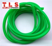 "Hook Tubing/1/8"" I.D/Fluorescent Green"