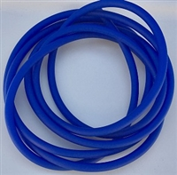 "Hook Tubing/1/8"" I.D/Fluorescent Blue"