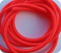 "Hook Tubing/1/8"" I.D/Fluorescent Red"