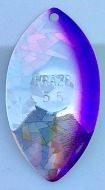 "Size 5.5 KRAZ8 Series Blade/Silver Holographic ""SG"" w/Purple Edge/2 Pack"