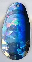 Size 6 RATLER French Blade/ Holographic SG w/Black & Blue Edge/2 pack