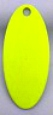#3.5 Swing Blade/Chartreuse Both Sides/10 pack