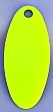 #3.5 Swing Blade/Chartruese w/Nickel Back/10 pack
