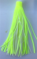"2 1/4"" Pro (Roll-Up/Quick) Skirt/Chartreuse/White/12 Pack"