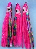 "1.5"" Squid Body/Hot Pink w/Laser UV /5 Pack"
