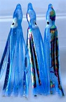 "2.5"" Squid Body/Light Blue UV w/Laser/6 Pack"