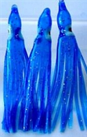 "2.5"" Squid Body/Bright Blue UV/6 Pack"