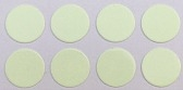 "3/8"" Round Dot/Glow In Dark/48 Pack"