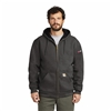 Mens Carhartt Rain Defender Rutland Thermal-Lined Hooded Zip-Front Sweatshirt